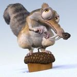 animation video: Scrat - No time for nuts (age de glace) + gone nutty