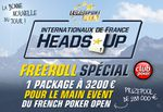 Freeroll Club Poker : Package pour Main Event Evian Poker Open