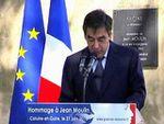 François Fillon rend hommage à Jean Moulin