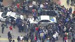 [Etats-Unis] Heurts en marge d'une manifestation après la mort d'un jeune noir