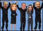 Who's Running, Who's Winning, Who's Losing, in the 2013 Knesset Elections?