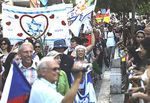 In Jerusalem, 6,000 Christians March in Support of Israel