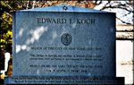 ED KOCH : fiercely jewish but buried in a churchyard