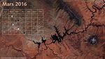 Le calendrier spatial de mars 2016 : le lac Powell et l'épopée d'Hipparcos