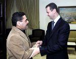 Samir Kuntar reçu à Damas