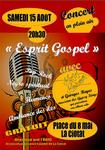 Esprit Gospel -Concert le 15 Août-