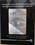 LE L.A.B.' VOUS INVITE A LA COMMEMORATION DU 17 OCTOBRE 1961