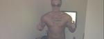 [photo] Dorian Rossini complètement nu