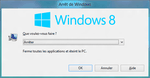 Comment arreter Windows 8 à la vitesse de l'éclair.