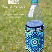 Outdoor Drink Holder Tutorial - Positively Splendid {Crafts, Sewing, Recipes and Home Decor}