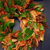 Sweet Something Designs: Magnolia Leaf Wreath (A Tutorial)