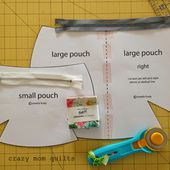 crazy mom quilts: baggy pouch