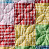 Orange Peel quilting with a walking foot