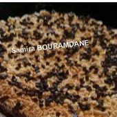 Le blog de Sanfoura مدونة السنفورة: براوني بطبقة صابلي محكوك مع ممولة الحفلات سميرة بورمضان 04/05/2016