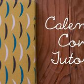 Miss Make: Tutorial: Calendar Cover