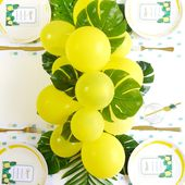 DIY Ballons & Palmiers Décoration de Table Tropicale