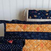 Pattern Review | Open Wide Zipper Bags