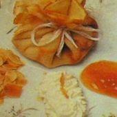 Aumônières de recette crepe