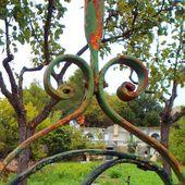 le jardin de Roger Peridier à Castries