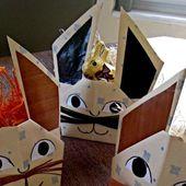 Lapins-coquetiers en décoration de Pâques (avec le tuto)