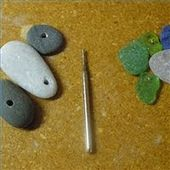 How to Drill Sea Glass ~ The Beading Gem's Journal