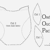 """Owl Ouchie Pack {A-Z Series, """"O""""}"""