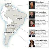 """Les dirigeants """"insoumis""""sud-américains semblent attraper le cancer avec une """"régularité"""" étrange... + commentaire - MOINS de BIENS PLUS de LIENS"""