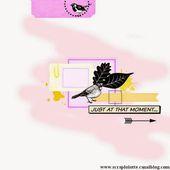 Les créations de Scrapatalie: Grand Concours anniversaire 2015 Etape 1
