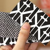 Nook & Cranny: DIY: How to make an origami business card holder
