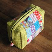 Small Bag of Patchwork DIY tutorial ~