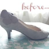 p.s.♡: diy : revamping shoes