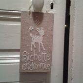 Chez Mounette: Broderie naissance