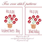 Happiness is Cross Stitching : A quick stitch for the one you love!