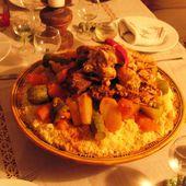 Le dîner Marocain de Recettte Couscous Marocain