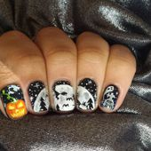 Skulls & Polish: Halloween participations #3