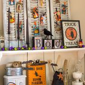 The North End Loft: Halloween Decorations