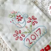 "Free ""new year"" stitchery, and baking scones..."