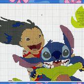 ENCANTOS EM PONTO CRUZ: Lilo e Stitch