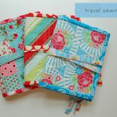 travel sewing kit tutorial | lots of pink here!
