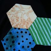A Few Scraps: To work, with hexagons