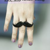 DIY MUSTACHE RING Today's DIY is how to make a simple shape out of recycled shrink plastic and turn it into funky jewelry with a few jewelry findings. In this case, a mustache ring! You will...