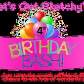Let's Get Sketchy: Birthday Giveaway Time!!!
