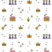 Free digital three kings scrapbooking paper - ausdruckbares Geschenkpapier - freebie