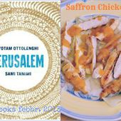 menu turistico: Saffron Cicken and Herb Salad per lo Starbooks di Febbraio