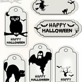Free printable halloween tags - Druckvorlage Halloween - freebie | MeinLilaPark - DIY printables and downloads