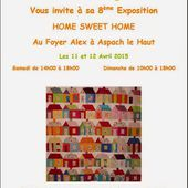 Association Fil à Gogo Club de Patchwork: EXPOSITION 2015