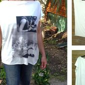 DIY patron Tee-shirt ultra facile à faire Bettinael.Passion.Couture.Made in france