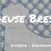 "Brodeuse Bressane: Freebie Friday - biscornu 15 faces ""flowers and leaves"""