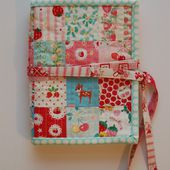 12 Gifts of Christmas Blog Hop! - patchwork sewing kit tutorial {now closed}   lots of pink here!