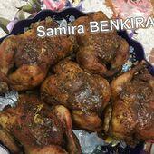 poulet grillé aux plantes aromatiques دجاج مشوي في الفرن بالأعشاب المنسمة مع سميرة بنكيران